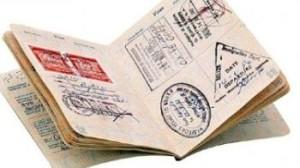 Stempel in paspoort van Turkije